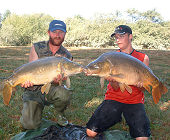 Two carps for father and son