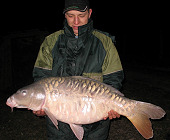 Fully-scaled mirror carp - 35.3 Lbs