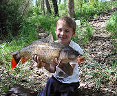 My first common carp